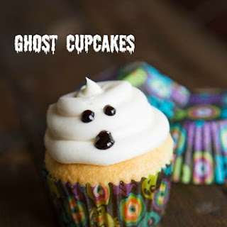 Ghost Cupcakes.