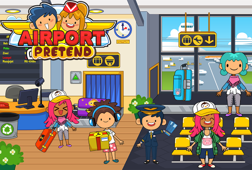 My Pretend Airport - Kids Travel Town Games  {cheat|hack|gameplay|apk mod|resources generator} 1