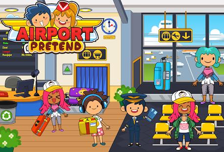 My Pretend Airport - Kids Travel Town Screenshot