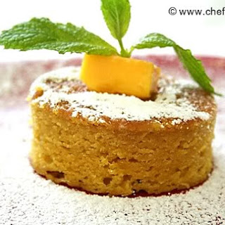 Eggless (Vegan) Mango Cake by DK on Aug 20, 2010.