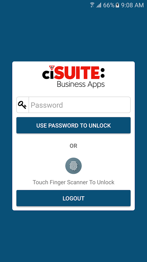 ciSUITE: Powered Business Apps- screenshot