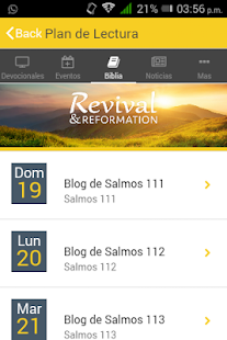 Devocionales diarios- screenshot thumbnail