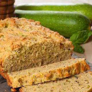 Savory Pesto-Zucchini Bread.