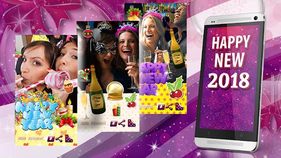 Šťastný Nový Rok 2017e karty - náhled
