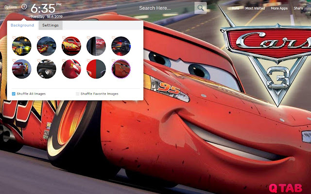 Cars 3 Movie Wallpapers Theme