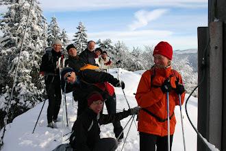 Photo: Frohsinn am Gipfel