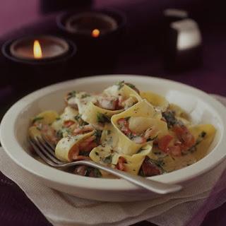 Creamy Bacon and Mushroom Pasta