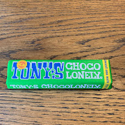 Tony's Chocolonely Dark Chocolate Almond Sea Salt