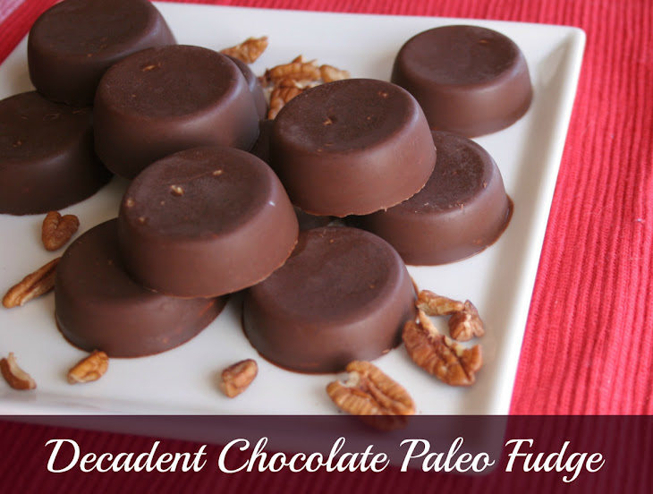 Decadent Chocolate Paleo Fudge Recipe