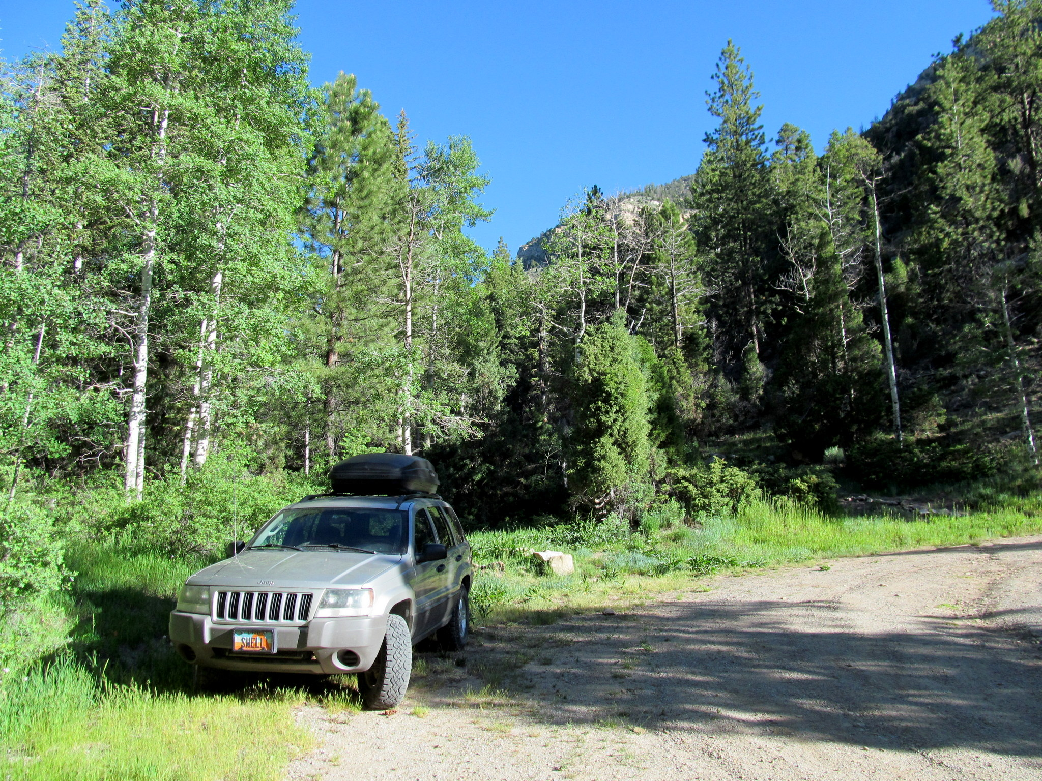 Photo: Mill Fork Canyon trailhead