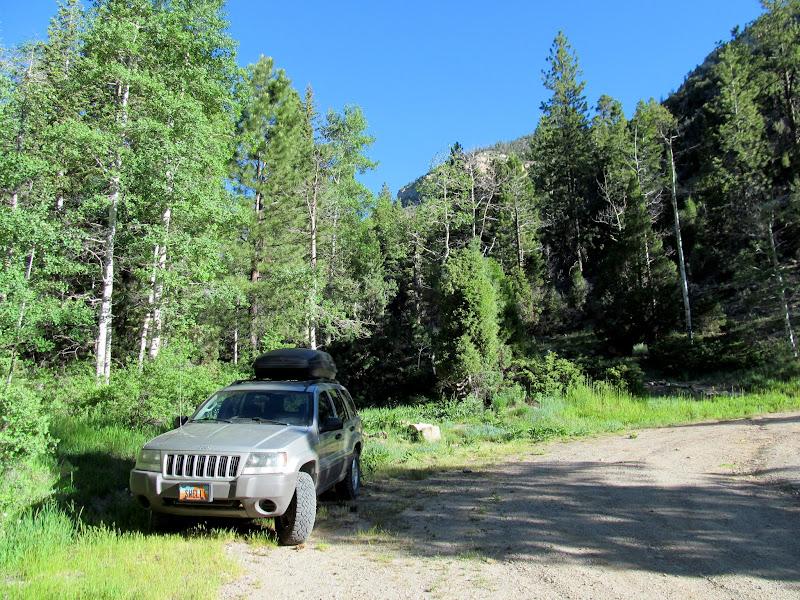Photo: Mill Fork Canyon trailhead