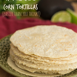 Homemade Corn Tortillas Are Easier Than You Think