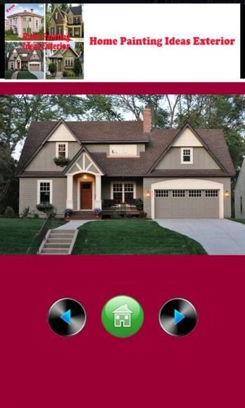 Home Painting Ideas Exterior Screenshot