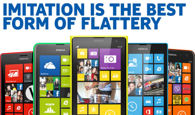 "Nokia: ""Thanks Apple – Imitation Is the Best Form of Flattery"""