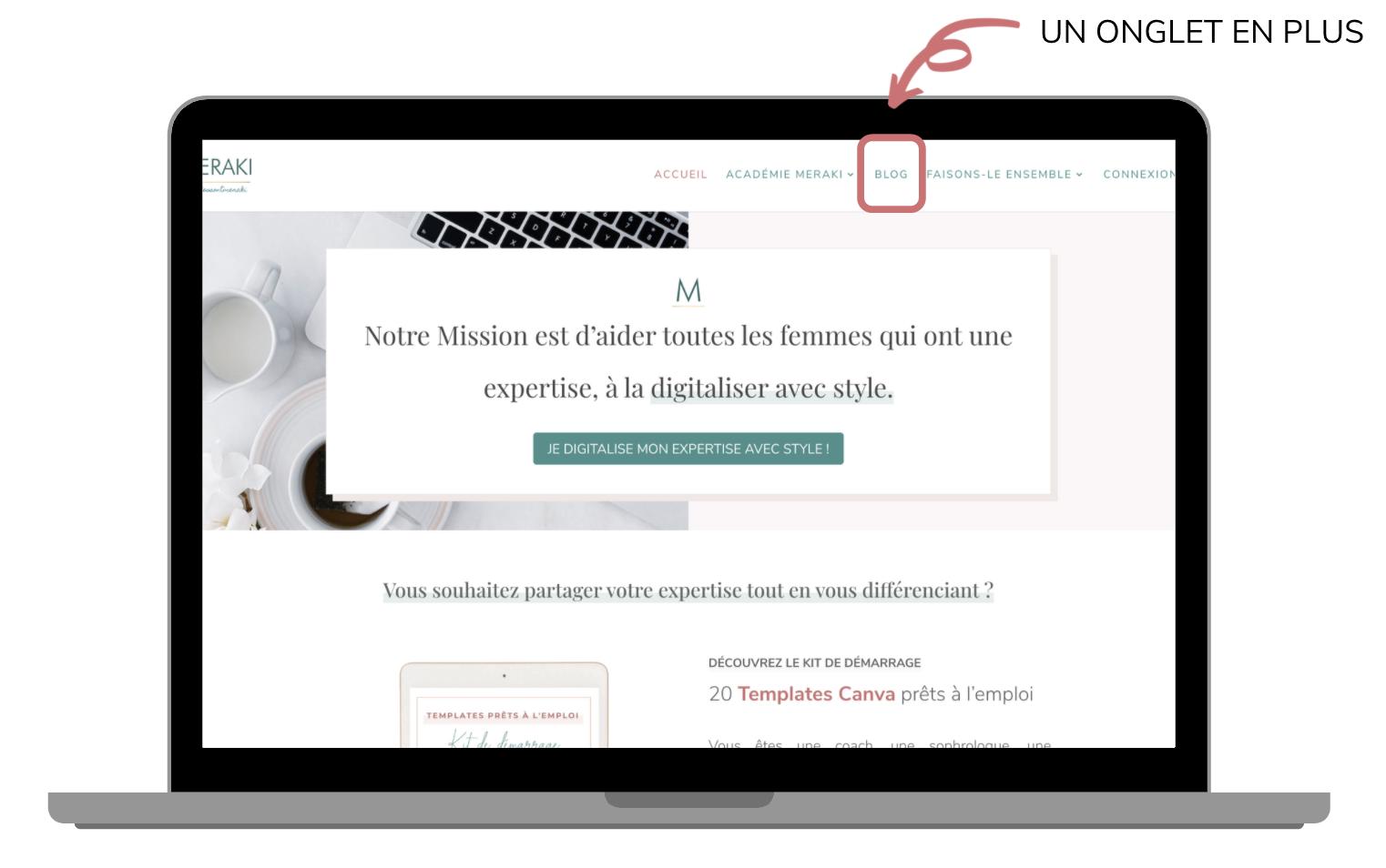 Site et blog : modèle hybride et aucune différence