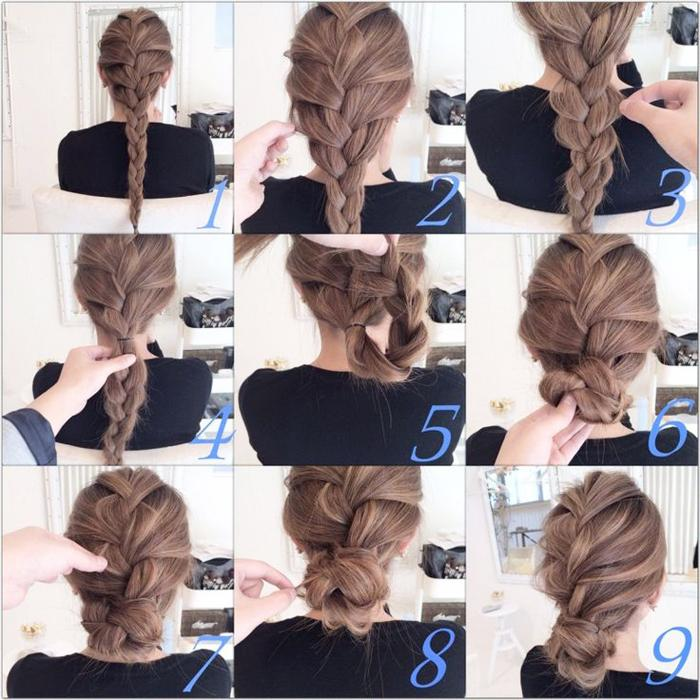Hairstyles Step By 2018 Screenshot
