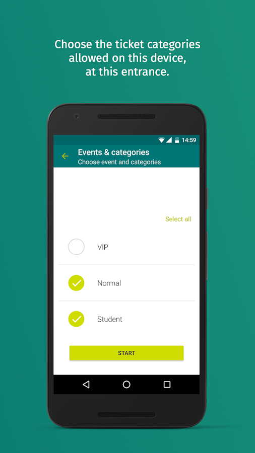 EasyEntry by XING Events- screenshot