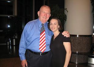 Photo: Me & NASA Flight Director Gene Kranz