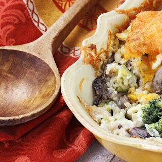 Creamy Chicken Broccoli Rice Casserole Recipe