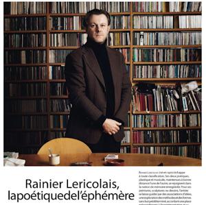 Rainier Lericolais, lapoétiquedel'éphémère, AD magazine, 2012
