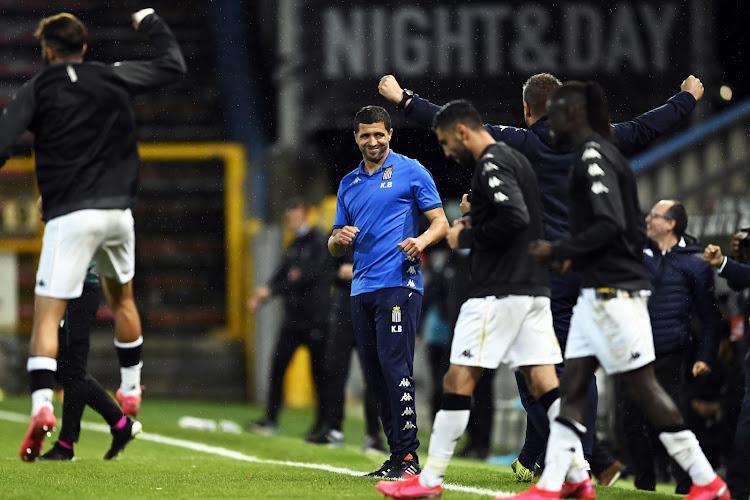 """Le Sporting de Charleroi savoure, mais n'y est pas encore: """"On est à la mi-temps"""""""
