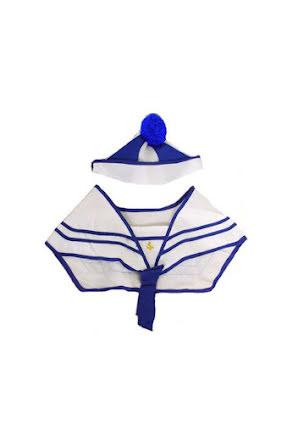 Sjömanskrage med hatt