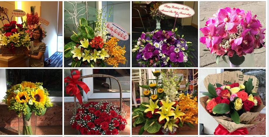Nhu cầu mua hoa tươi dành tặng người thân vào các dịp đặc biệt luôn phát triển