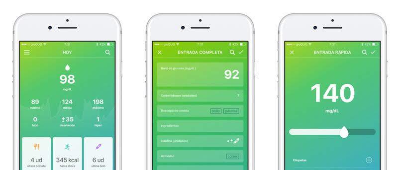 Controlar la diabetes con el móvil
