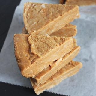 Three-Ingredient Peanut Butter Fudge
