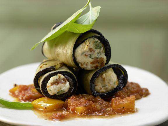 Eggplant Cannelloni Recipe