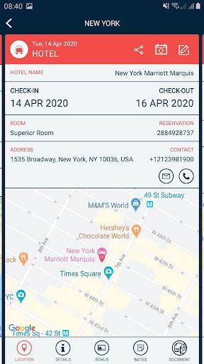 Traveler Buddy - Trip Planner and Flight Checker 2.4 screenshots 3