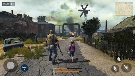 Last of Zombie: Real Survival Shooter 3D MOD (Unlimited Money) 1