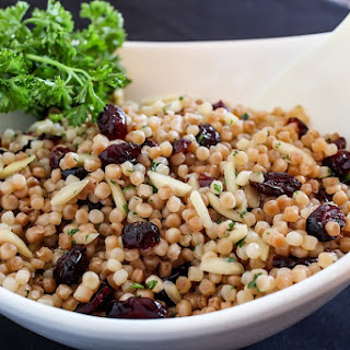Israeli Couscous with Almonds & Dried Cranberries Recipe