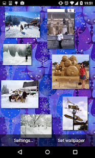 Christmas Photo Gallery Live Wallpaper - náhled