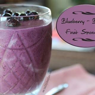 Blueberry-Banana Smoothies.