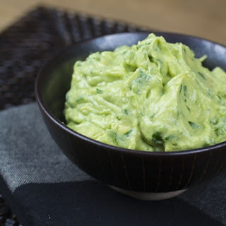 Goat Cheese Guacamole