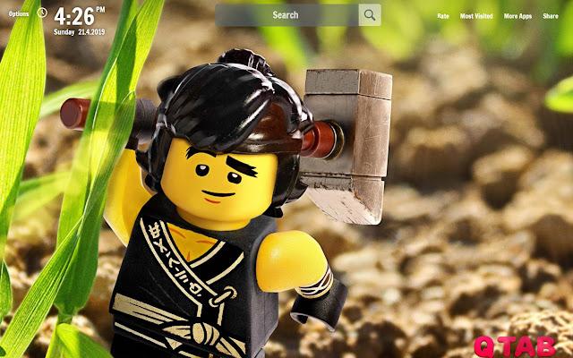 Lego Ninjago New Tab Lego Ninjago Wallpapers