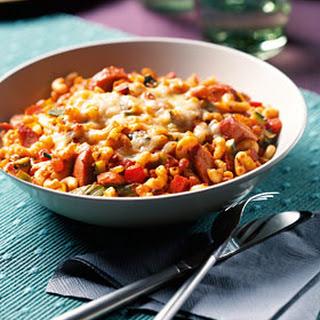 Macaroni Ovenschotel Met Verse Groenten En Rookworst