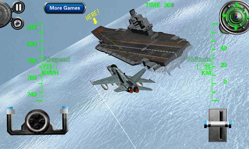 3D Aircraft Carrier Simulator