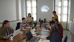 Equipo de EcoEQ en las oficinas centrales en Obispo Orberá