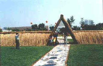 Photo: CHN_UR03 Vetiver entrance to park in China
