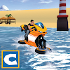 Water Surfing Bike Ride
