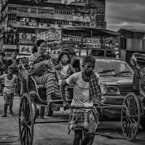 by Suman Basak - People Street & Candids ( market, city, street, poor, human )