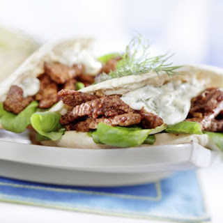 Beef Gyros Appetizers.
