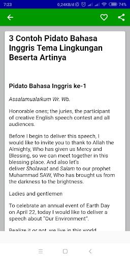 Blog Pendidikan Contoh Pidato Bahasa Inggris Singkat Tentang Islam