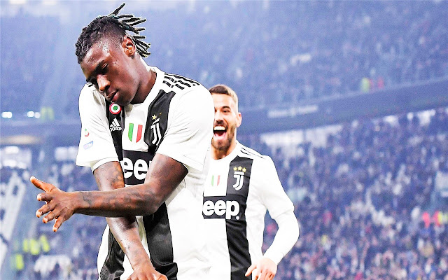 Moise Kean Themes New Tab