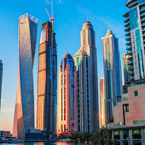 Dubai Marina by Abbas Mohammed - Buildings & Architecture Office Buildings & Hotels
