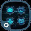 Laser Tech Theme-Solo Launcher icon