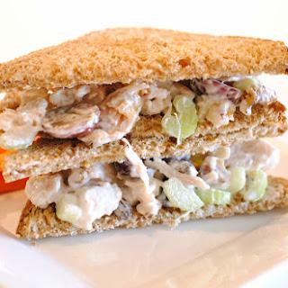 Chicken Waldorf Salad Sandwich