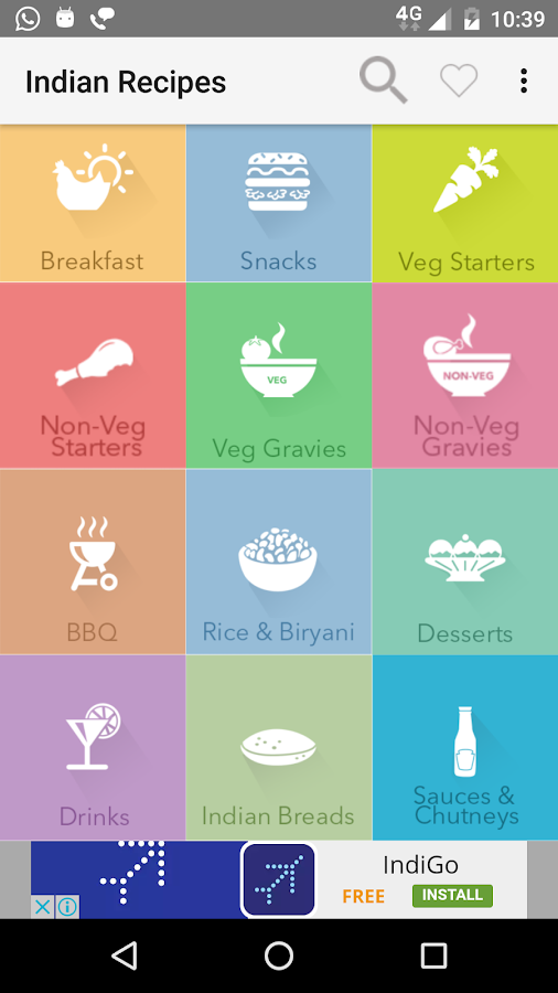 250 Indian Recipes with Images- screenshot